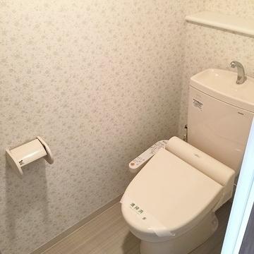 トイレも整っております。