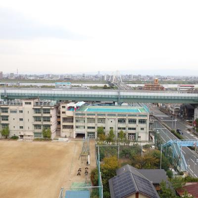 淀川も望める眺望の良いお部屋です。