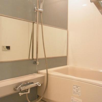 お風呂は広く豪華な設備です
