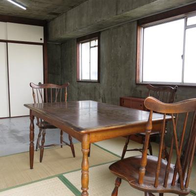家具は見本ですが、和室スペースに思い切ってテーブル置いてもいいですね。※写真は前回募集時のものです