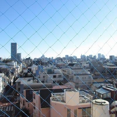 肉眼だと東京タワーがチラッと見えます!※写真は前回募集時のものです