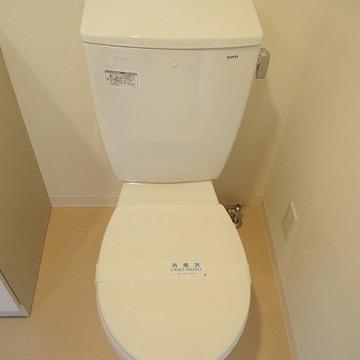 トイレは普通。ウォシュレットもなし!※写真は前回募集時のものです