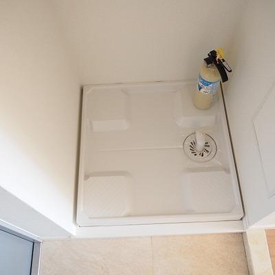 室内洗濯機置き場です。※写真は前回募集時のものです