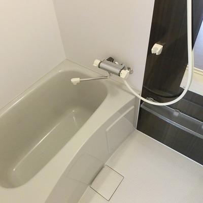 バスルームも新しくなりました