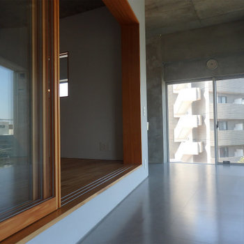別の角度から。 ※4階似た間取りの別部屋の写真です