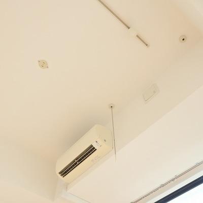 ベッドルームの天井は高いんです!