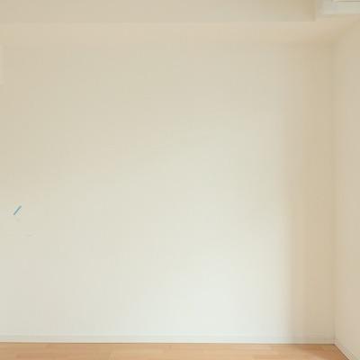 横を向いても真っ白、シンプルがいいね。