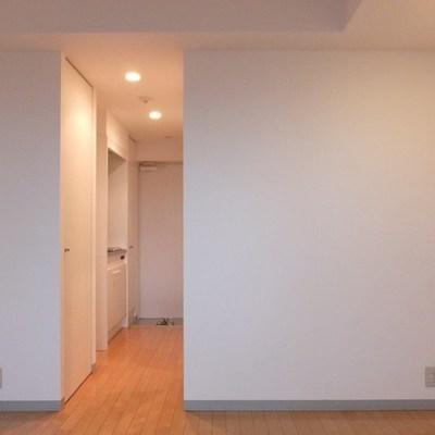 キッチンとお部屋の間にドアはありません。