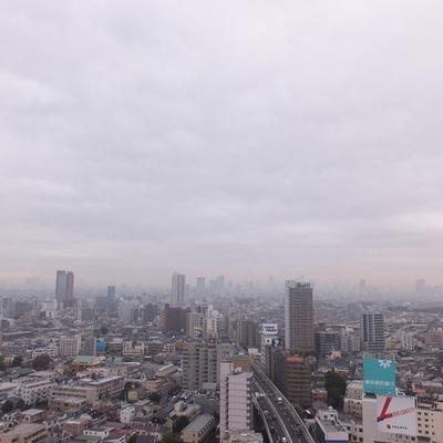 ベランダからの眺望!!東京を一望!