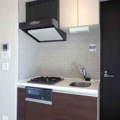 キッチンは幅は狭いけど機能優秀。