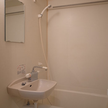 浴室乾燥機つきのお風呂です。※写真は前回募集時のものです