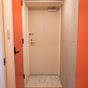 扉の色がたまらんのです。※写真は前回募集時のものです