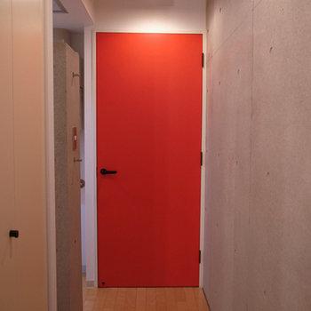 赤のようなオレンジのような朱色のような。※写真は前回募集時のものです