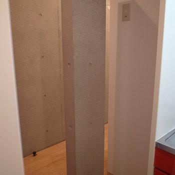 この柱がちょっとおしゃれ。※写真は前回募集時のものです