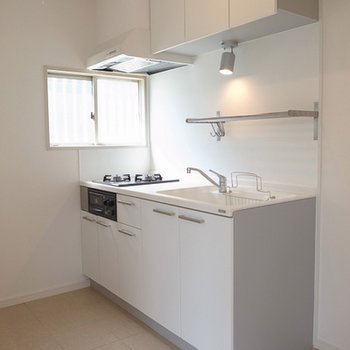 素敵なキッチン、ヤマハのシステムです。