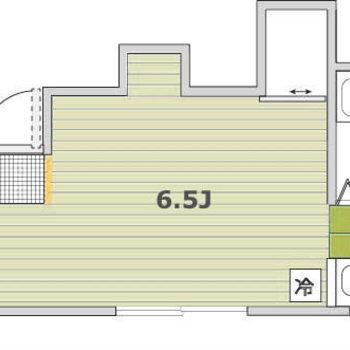 収納は上の凸二箇所。