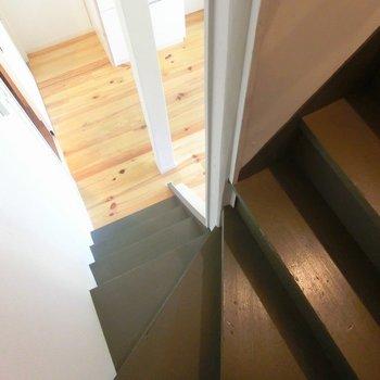 さてさて一階に降りましょう〜※前回募集時の写真です