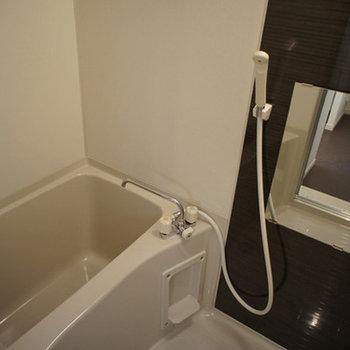 お風呂はちょっぴりコンパクト※前回募集時の写真です