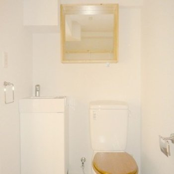 トイレと独立洗面台
