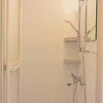シャワーだけですが