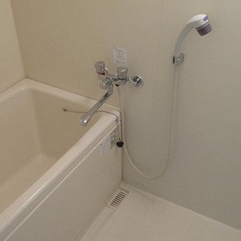 お風呂だけこざっぱりとしています