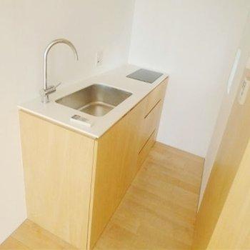 ぬくもりのあるキッチンです