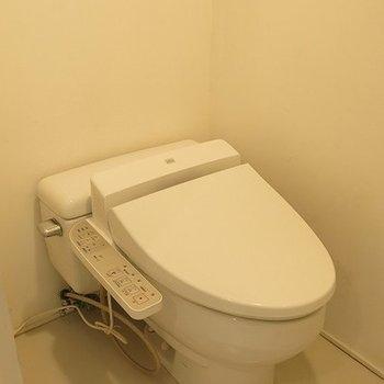 1階部分にトイレ