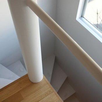 2階から眺めた階下