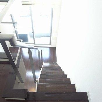 階段がしっかりしています
