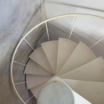 螺旋階段といえば、このアングルで決まりでしょ。
