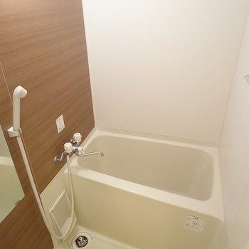お風呂もゆったりめ※写真は別室
