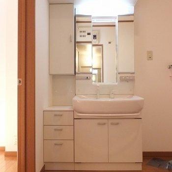 1階にバストイレ洗面台があります。