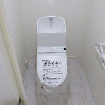 トイレも綺麗で嬉しい!