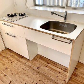 【1階DK】作業台の広い使いやすいキッチン!