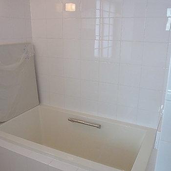 お風呂も広くてきれい(写真は6階です)