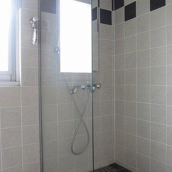 シャワールームのみです。男勝りだぜ!