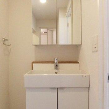 洗面台も収納あるのが嬉しい! ※写真は前回募集時のものです