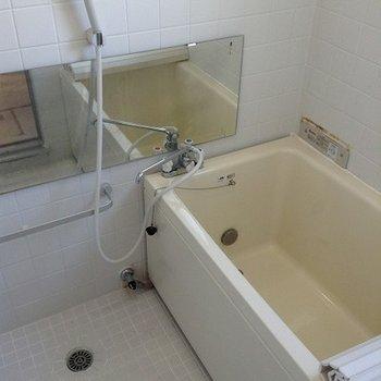 浴槽も広く。追炊き付き