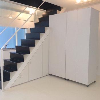 階段を登れば