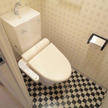 ウォッシュレットつきのトイレです