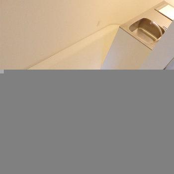 螺旋階段から見下ろすと