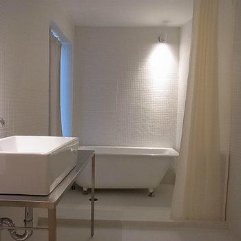 お風呂場が綺麗です