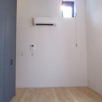 天井が高いので解放感があります。