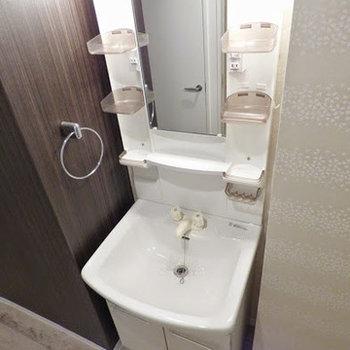 機能的な洗面台