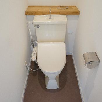 トイレは各階に1つずつ!