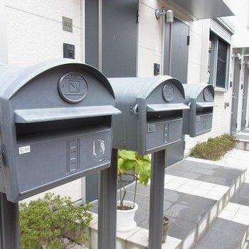 メールボックスがかわいい!
