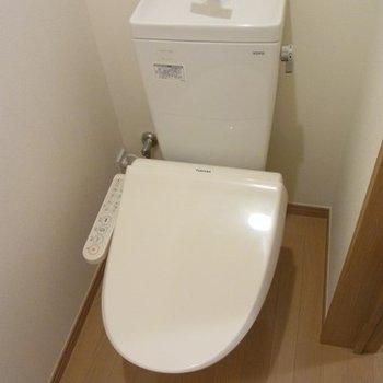トイレもウォシュレットでございます