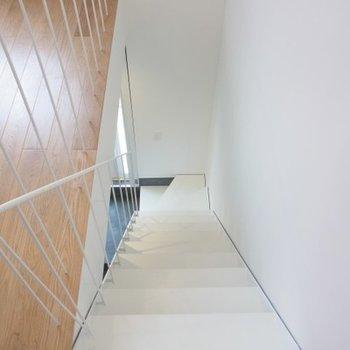 階段もちゃんとしているものです!