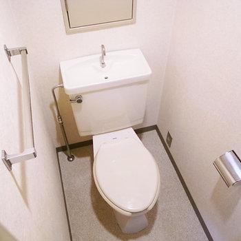 こちらお手洗い(画像は別室です)