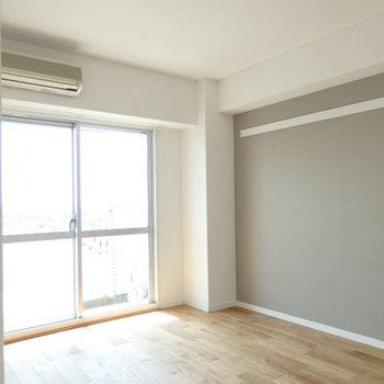 和室が洋室に変わりました※写真は別部屋です